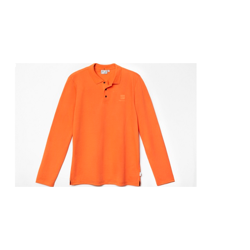 SEAT Herren Langarm Polo-Shirt Gr. XL, orange - 6H1084132DHAC