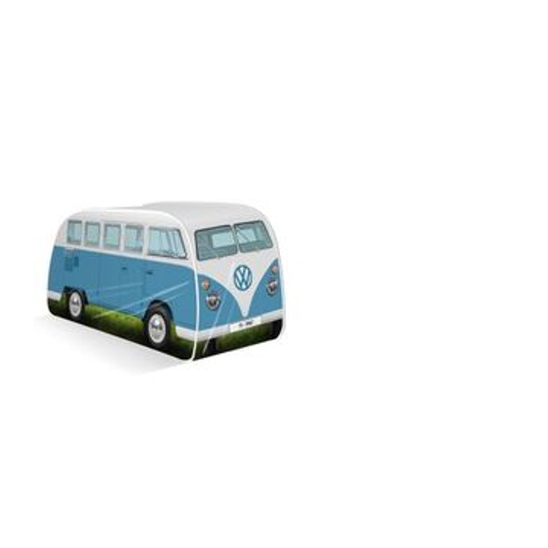 VW Bulli T1 Kinder Pop Up Spielzelt, blau - KUKOL0180BL