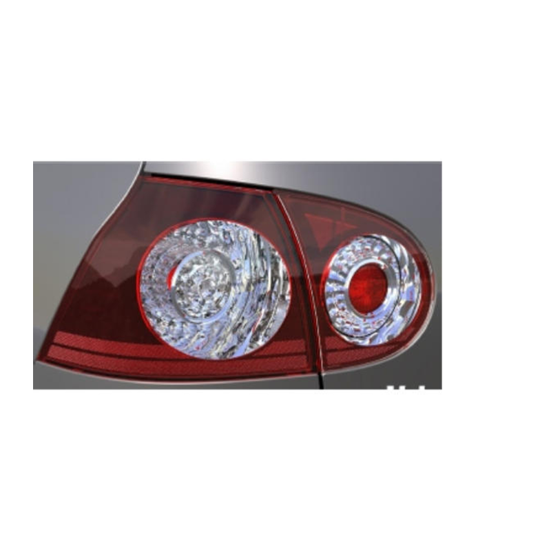 VW LED Heckleuchten-Set kirschrot Golf V 2004>2008 - 1K0052204
