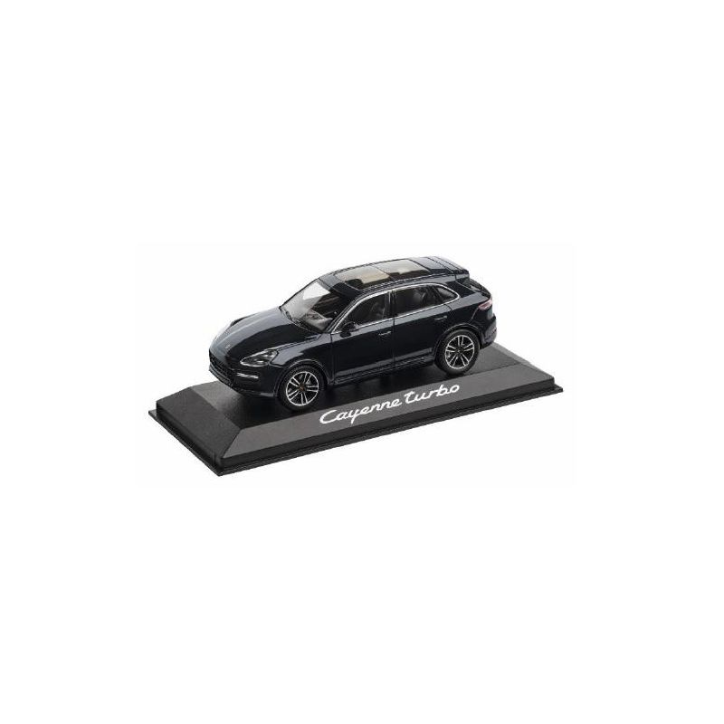Porsche Cayenne Turbo 1:43, moonlight blue metallic - WAP0203120J